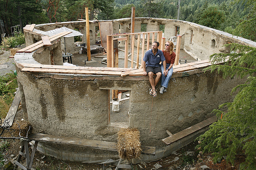 Cob houses for How to build a house in california