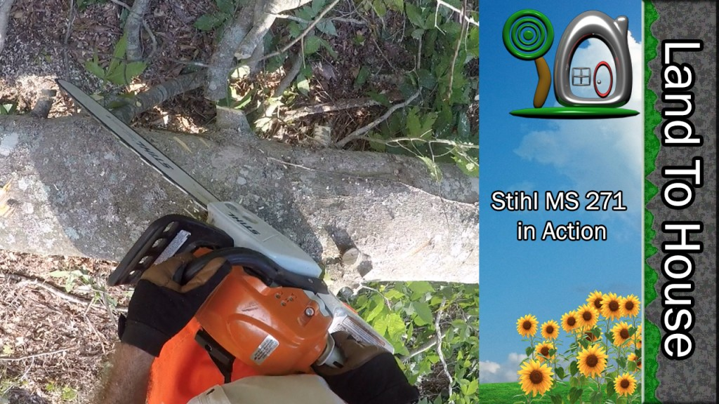 Stihl MS 271 In Action