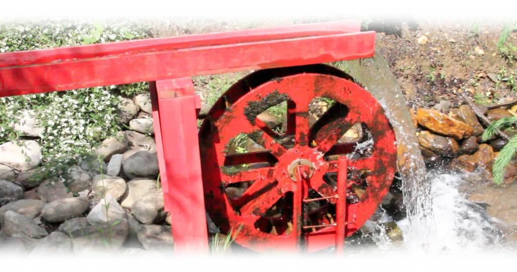water wheel fade